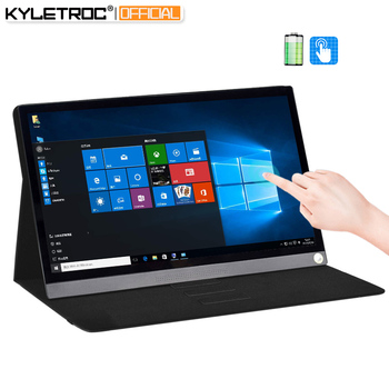 12.5inch 15.6inch battery touching IPS lcd portable monitor usb type c hdmi for laptop phone xbox switch ps4 gaming monitor