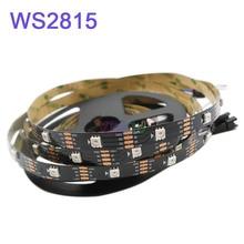 1m/2m/3m/4m/5m WS2815 led strip tape,30/60/144 pixels/leds/m,IP30/IP65/IP67 DC12V Addressable Dual-signal Smart led strip light