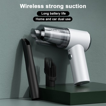 Portable Car Vacuum Cleaner 12V 45W Wireless Handheld Auto Vaccum 3500pa Suction Home Desktop Mini HEPA Vacuum Cleaner Handheld handheld wireless car vacuum cleaner rechargeable household car vacuum cleaner portable mini vacuum strong suction