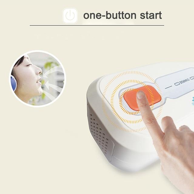 Ventilator Auto CPAP BPAP Cleaner Disinfector 2200mAh Sleep Apnea Anti Snoring  easy to carry JS88 4