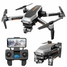 L109 PRO GPS Drone ile 2-axis Gimbal Anti-shake Selfstabilizing Wifi FPV 4K kamera fırçasız Quadcopter VS SG906 PRO F11 ZEN K1