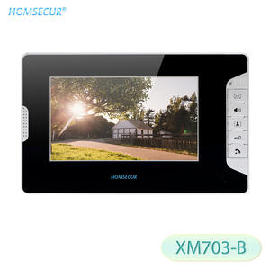 HOMSECUR Door-Phone Video for XM703-B LCD 800480 TFT 7inch