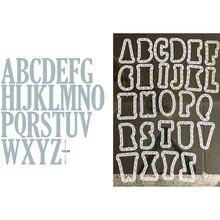 52 шт/компл искусственный алфавит буквы 10 см металлические