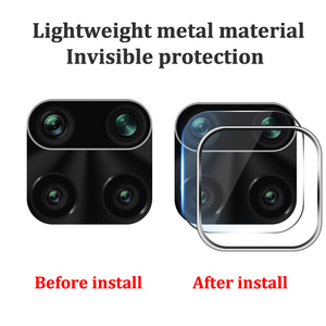 Image 5 - Camera Lens Protective Ring + Tempered Glass for Xiaomi Redmi Note 9s 9 Pro Max Lens Screen Protector for Redmi Note 9s 9 S