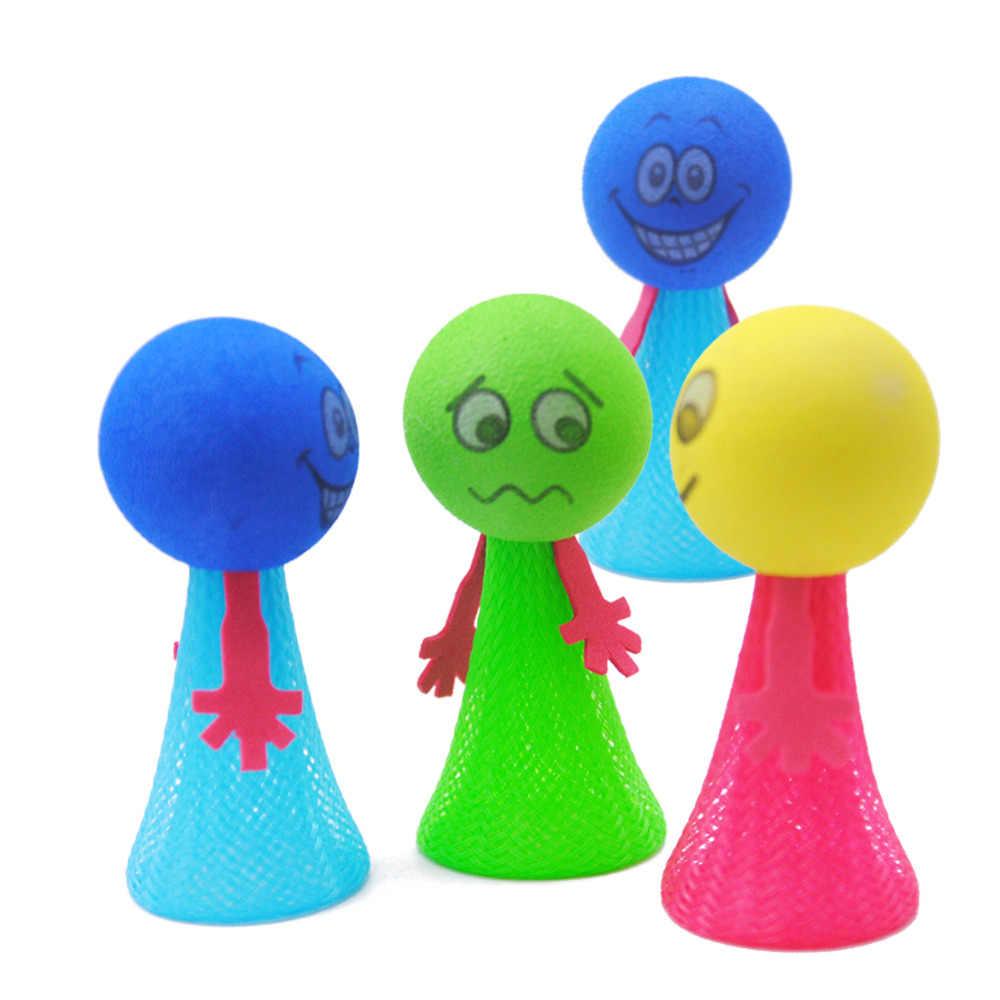 צעצועי ילד להקפיץ כדור אביב צעצועי נבל גדול Vent קצף להקפיץ כדור חיוך לחץ Vent צעצוע ילדים לחץ ביטוי