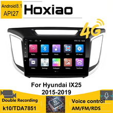 Android 2 din GPS Navigation Auto Radio Für hyundai Creta ix25 2015-2019 2016 2017 2018 Keine DVD-Multimedia video Audio Player 4G