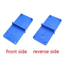 35mm 40mm Hinge Hole Drilling Guide Locator Holes Opener Template Model Door Cabinets DIY Woodworking Tool G8TB