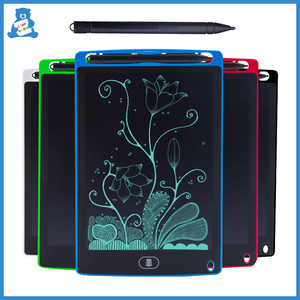 8.5Inch LCD Writing Tablet Handwriting Digital Drawing Board Colorful Rewritable Blackboard Electronic Notepad Kids Drawing Toys