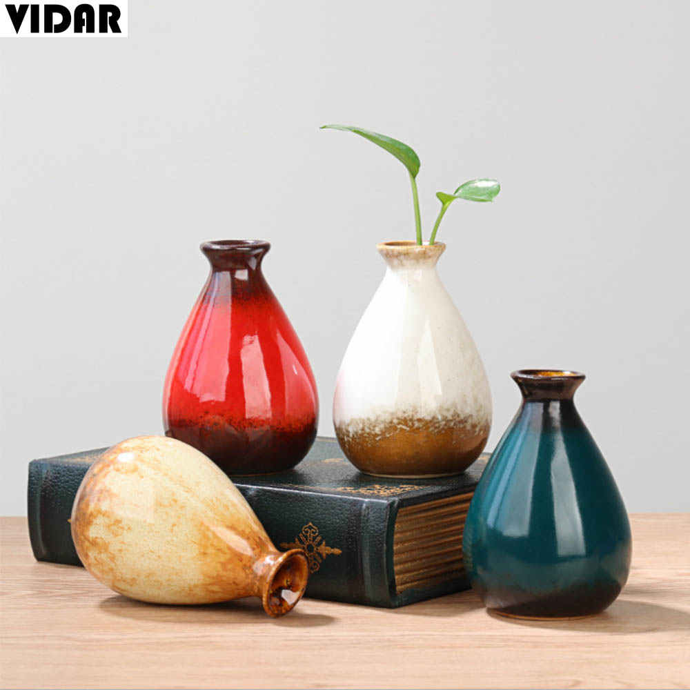 Vidar Chinese Porcelain Vase Home Garden Decor Japan Vintage Ceramic Vase For Flower Plants Hydroponic Vase Teaism Decor Japan Vases Aliexpress