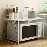Kitchen Shelves Microwave Oven Shelf Multilayer Floor type Household Province Space Storage Put Pot Oven Storage Shelf