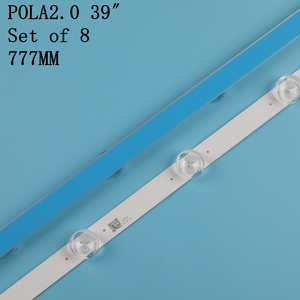 "Image 5 - 100% neue 1set = 8 stücke (4A + 4B) led hintergrundbeleuchtung bar forTV HC390DUN VCFP1 21X 39LN5400 39LA6200 LG innotek POLA 2,0 POLA 2,0 39 ""A/B typ"