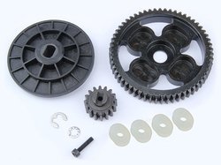 1/5 scale rc car parts  rc car spare parts 58T/16T alloy torque gear set 95067 for HPI ROVAN BAJA 5b ss 5SC 5T