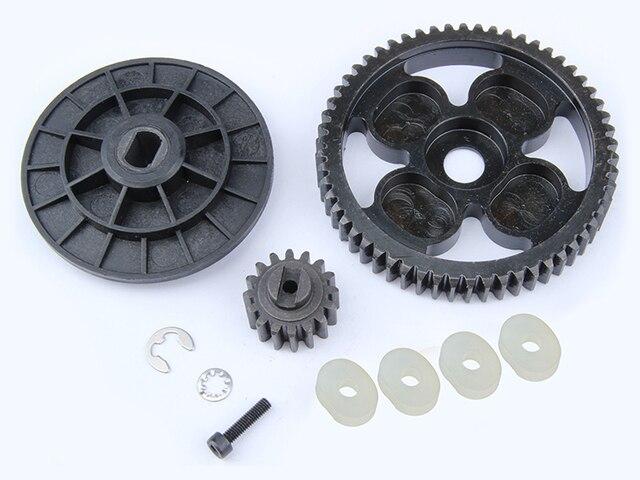 1/5 scale rc car parts  rc car spare parts 58T/16T alloy torque gear set 95067 for HPI ROVAN BAJA 5b ss 5SC 5T