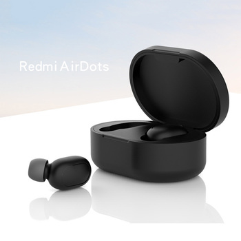 New Silicone Case Protective Cover for Xiaomi Airdots Bluetooth Earphone Youth Version Headset for Headset TWS Protective Box image