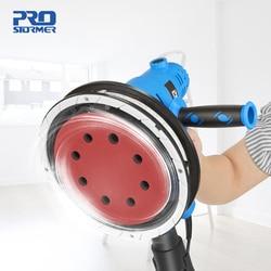 750W Drywall Sander 230V Wall Polishing Grinding Machine Portable Led Light 610-2150/min Wall Putty Polisher by PROSTORMER