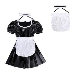 Image 3 - ผู้หญิงเซ็กซี่ฝรั่งเศสแม่บ้าน Servant บทบาทเล่นเครื่องแต่งกายเงา Babydoll ชุดแฟนซีชุดชั้นในเร้าอารมณ์ COSPLAY เจ้าหญิงชุดผ้ากันเปื้อน