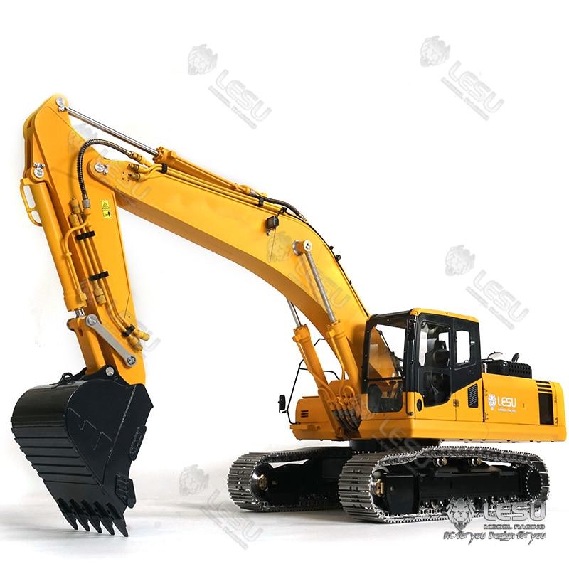 1/14 LESU Komatsu PC360 Metal Hydraulic Excavator RC Model with Motor ESC Servo