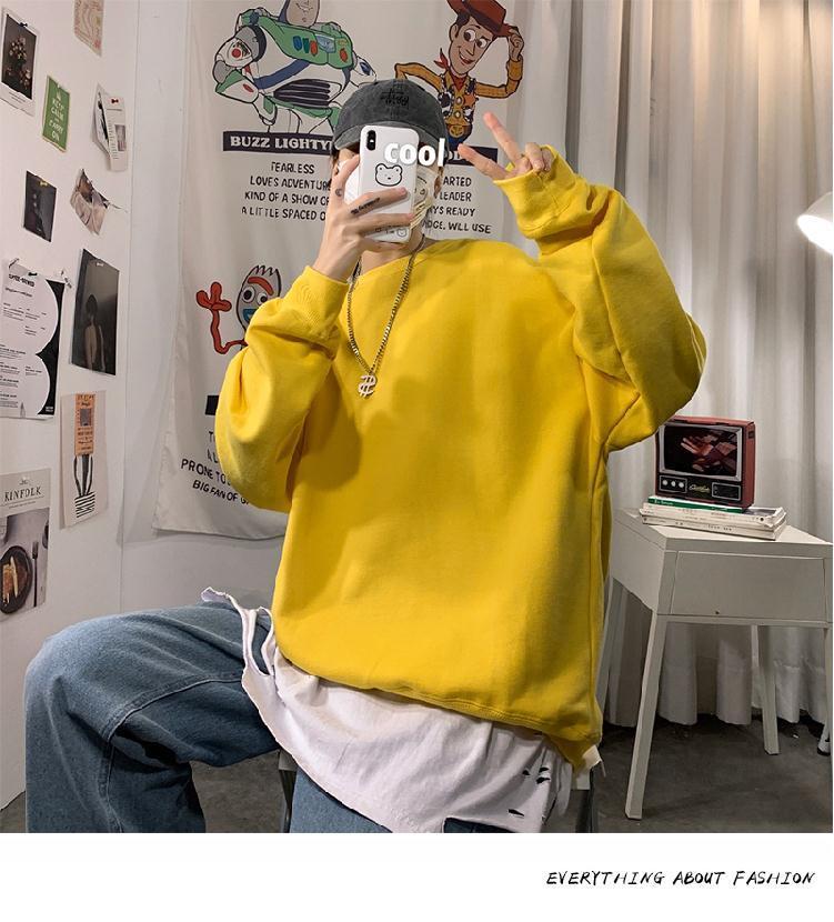 H8daaa07d473548eab3695c97d8732e2bl loose Korean style plus size sweatshirt winter clothes streetwear women 2020 new fashion plus velvet oversize harajuku hoodie