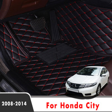 Car-Floor-Mats Carpets-Accessories Honda City Custom for Rugs Auto-Styling-Decoration