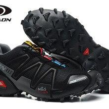Salomon speed Cross 4 уличные мужские спортивные кроссовки удобные мужские беговые кроссовки обувь для фехтования