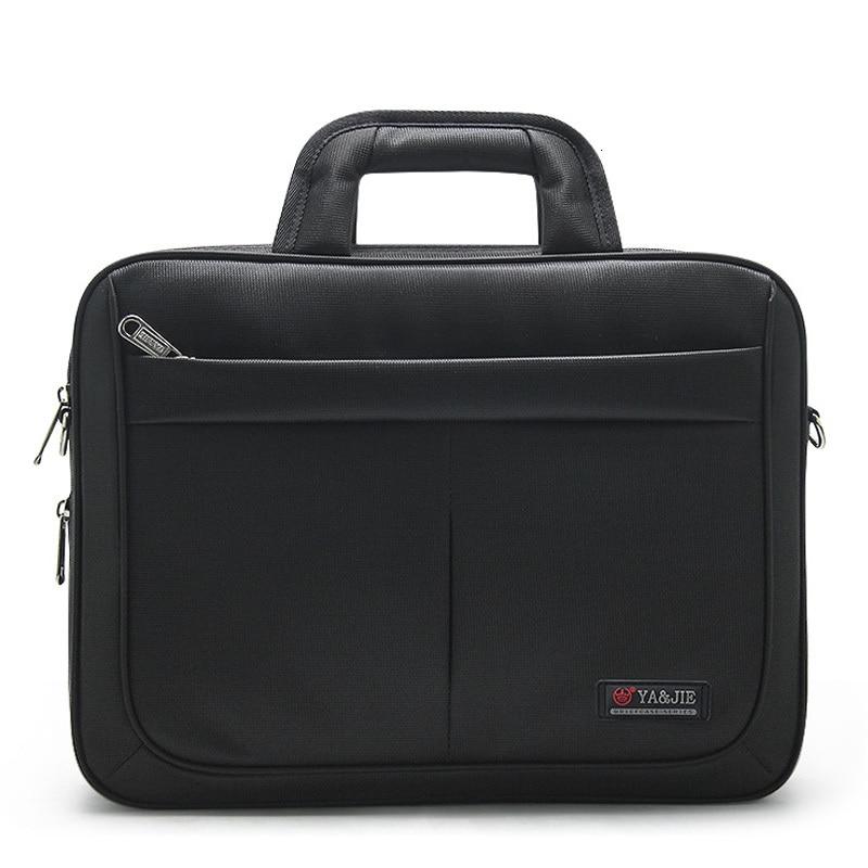 Waterproof Oxford 14 15.6inches Computer Notebook Laptop Bag Men Briefcase Shoulder Handbag