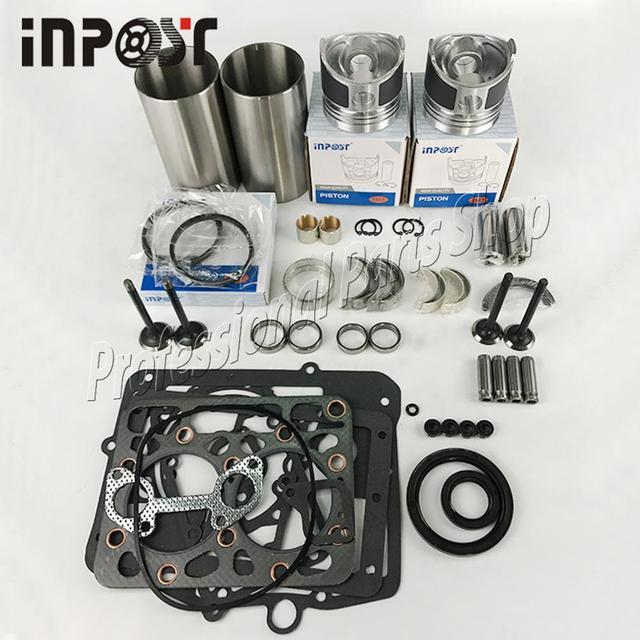 Kit de reconstruction pour moteur Kubota Z650 B7000 | Nouveau Kit de révision