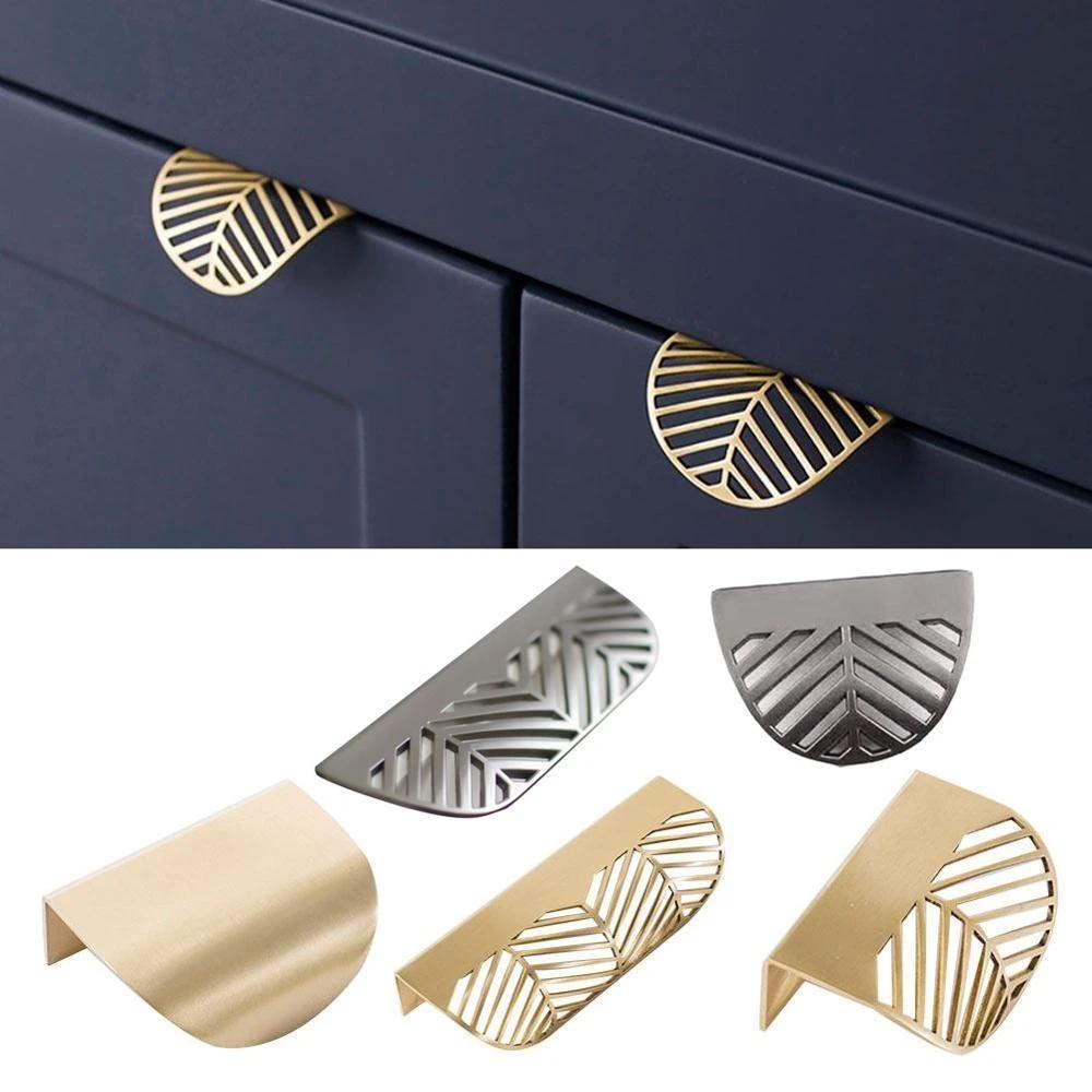 Novelty Kitchen Cabinet Knobs Novelty Leaves Furniture Handles CabiKnobs and Handles Drawer