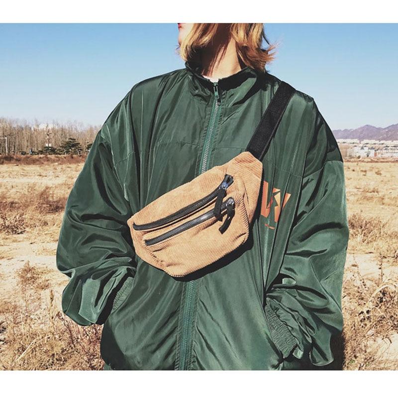 500.21руб. 44% СКИДКА|Холщовая поясная сумка унисекс на молнии, нагрудная сумка, уличная спортивная повседневная поясная сумка для девочек и мальчиков, поясная сумка, модная поясная сумка для телефона B90-in Поясные сумки from Багаж и сумки on AliExpress - 11.11_Double 11_Singles' Day