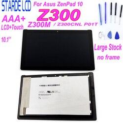 Para Asus ZenPad 10 Z300M P00C Z300CNL P01T LCD pantalla táctil montaje 10,1 ''piezas de repuesto con herramientas gratuitas