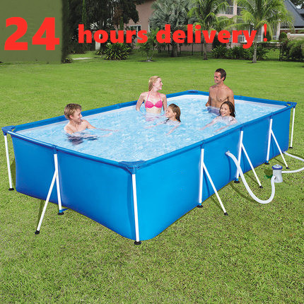 Large Children's Inflatable Swimming Pool Outdoor Children's Home Paddling Pool Large Baby Square Inflatable Swimming Pool