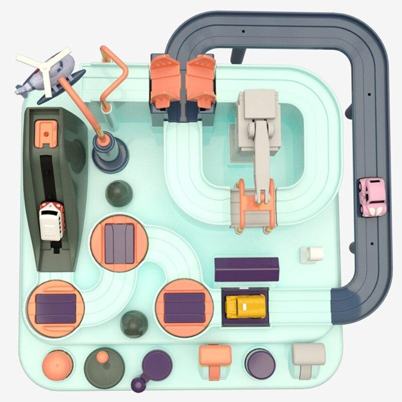 ecologico bebe aventura brinquedo carro macaron cor 02