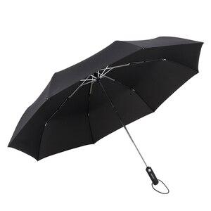 Image 5 - Parachase كبيرة التلقائي مظلة الرجال النساء يندبروف 8 الأضلاع الأعمال كبيرة للطي مظلة 122 سنتيمتر واضح الغولف المظلات Paraguas