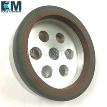 Free Shipping!Three-band resin wheels D150x22x16x10mm for shape bevel edge machine.