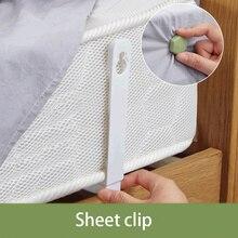 4pcs/set Bed Sheet Clip Slip-resistant Fixing Clip Holders Clamps Mattress Fasteners Holder Coverlet Duvet Clip Sheet Holder