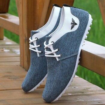 2020 men Casual Shoes mens canvas shoes for fashion Flats brand Zapatos de hombre