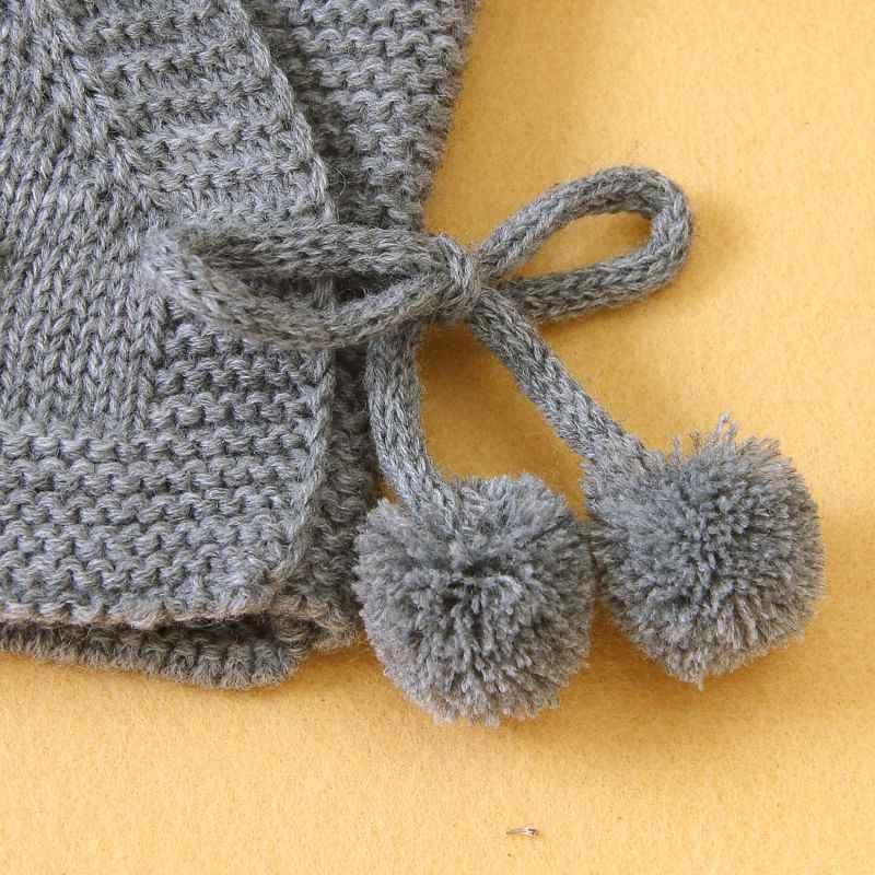 ربيع الخريف سترة مشغولة من الصوف سترة طفل الأطفال ملابس الفتيان الفتيات البلوزات معطف الاطفال عادية الدانتيل يصل ملابس دافئة