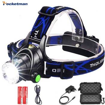 Led Headlight XML 3/5 LED T6 Head Lamp Flashlight Torch Head Light with 18650 Battery Camping Fishing Hunting yunmai usb 20000lm 5 new xml t6 2xpe headlamp head lamp lighting light flashlight torch lantern fishing 18650 battery charger