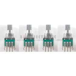 4 Uds DCS1091 potenciómetro interruptor para PIONEER DJM400 DJM 400