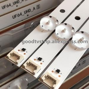 Image 3 - LED rétro éclairage bande 8 lampe pour LG Innotek Direct 43 pouces UHD 1Bar 24EA type TV 43UH610V 43UH6030 UF64 UHD_A 43LH5700 43LH60FHD