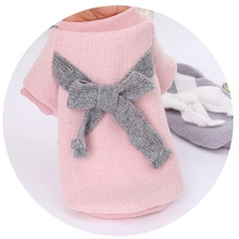 1PCS Cute Pet Clothes Warm Autumn Winter Clothing Cat Puppy Sweater Jacket Dog 27