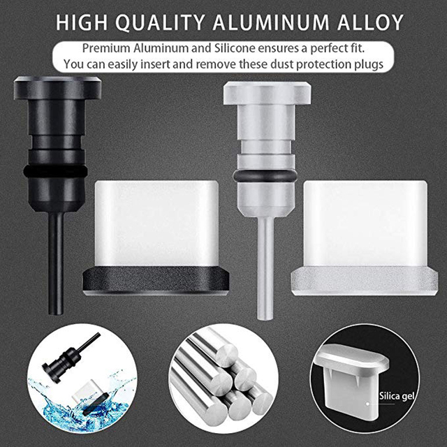 Business Travel Portable device Anti-Dust Plugs