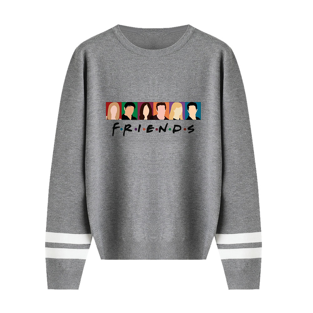 Friends Sweater New Listing Fall/Winter Pullovers Men/women Casual Knitting Sweater Classic Sitcom Sweater Female Unisex Sweater