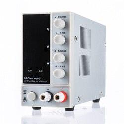 Fuente de alimentación de CC ajustable Digital NPS3010W 110V/220V 0-30V 0-10 a 300W fuente de alimentación de conmutación de laboratorio regulada estable