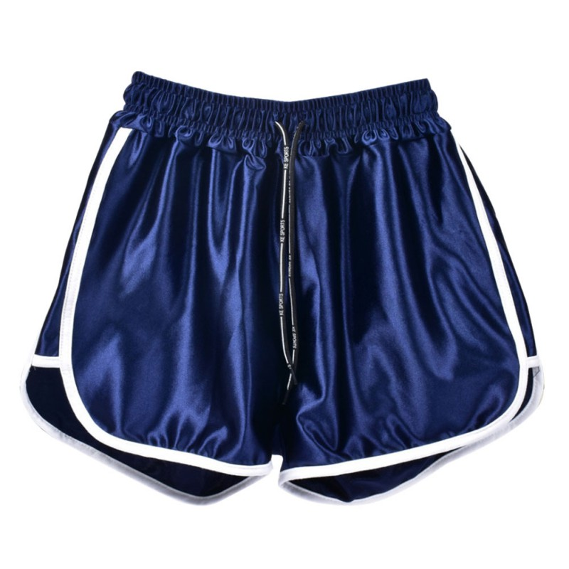 New Running Shorts Fitness Sport Solid Color Sports Wide Leg Shorts Plus Size Women Shorts Loose Casual Low Waist Workout S-5XL