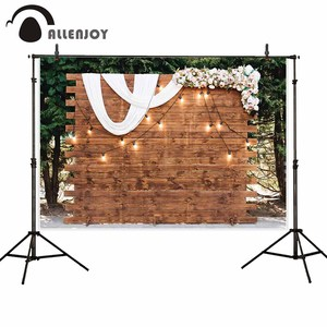 Image 3 - Allenjoy פרח רוז רקע חתונת mariage האהבה יום 14 פברואר כלה מקלחת פוליאסטר סטודיו צילום רקע