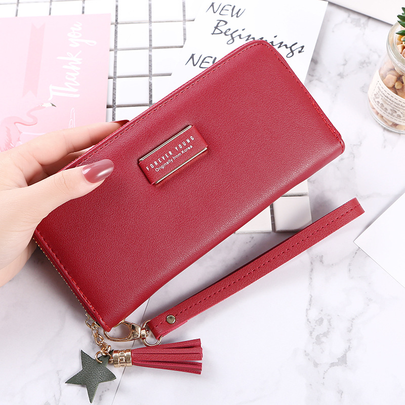 2019 the new fashion students are red fashion leisure zero wallet simple wallet pocket wallet.yoda mandalorian