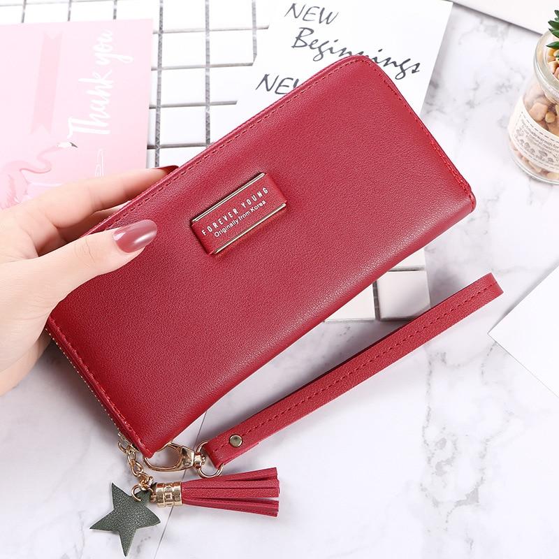 2019 The New Fashion Students Are Red Fashion Leisure Zero Wallet Simple Wallet Pocket Wallet.yoda Mandalorian