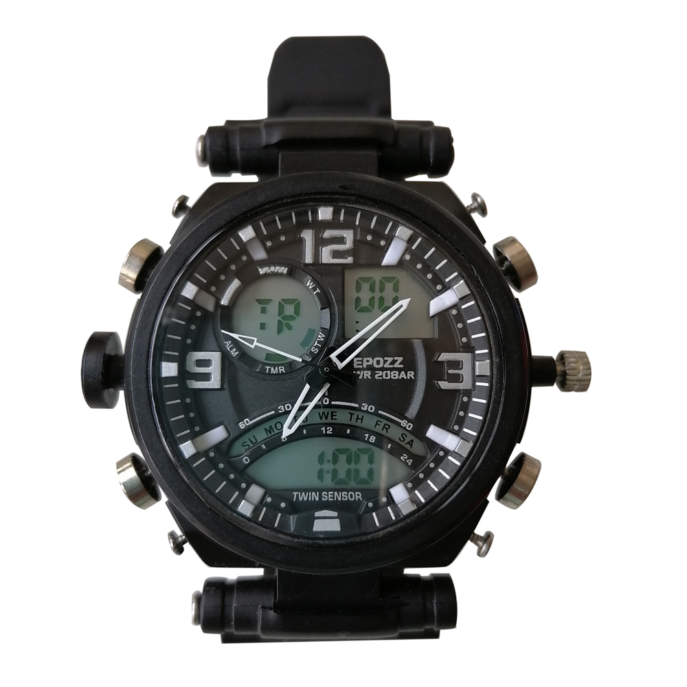 Men Military Watch 50m Waterproof Wristwatch LED Quartz Clock Sport Watch Male Relogios Masculino 2812 Sport Watch Men Shock
