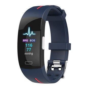 P3Plus Smart wristband PPG ECG fitness health smart Band electronic blood pressure measurement Heart rate monitor smart Bracelet