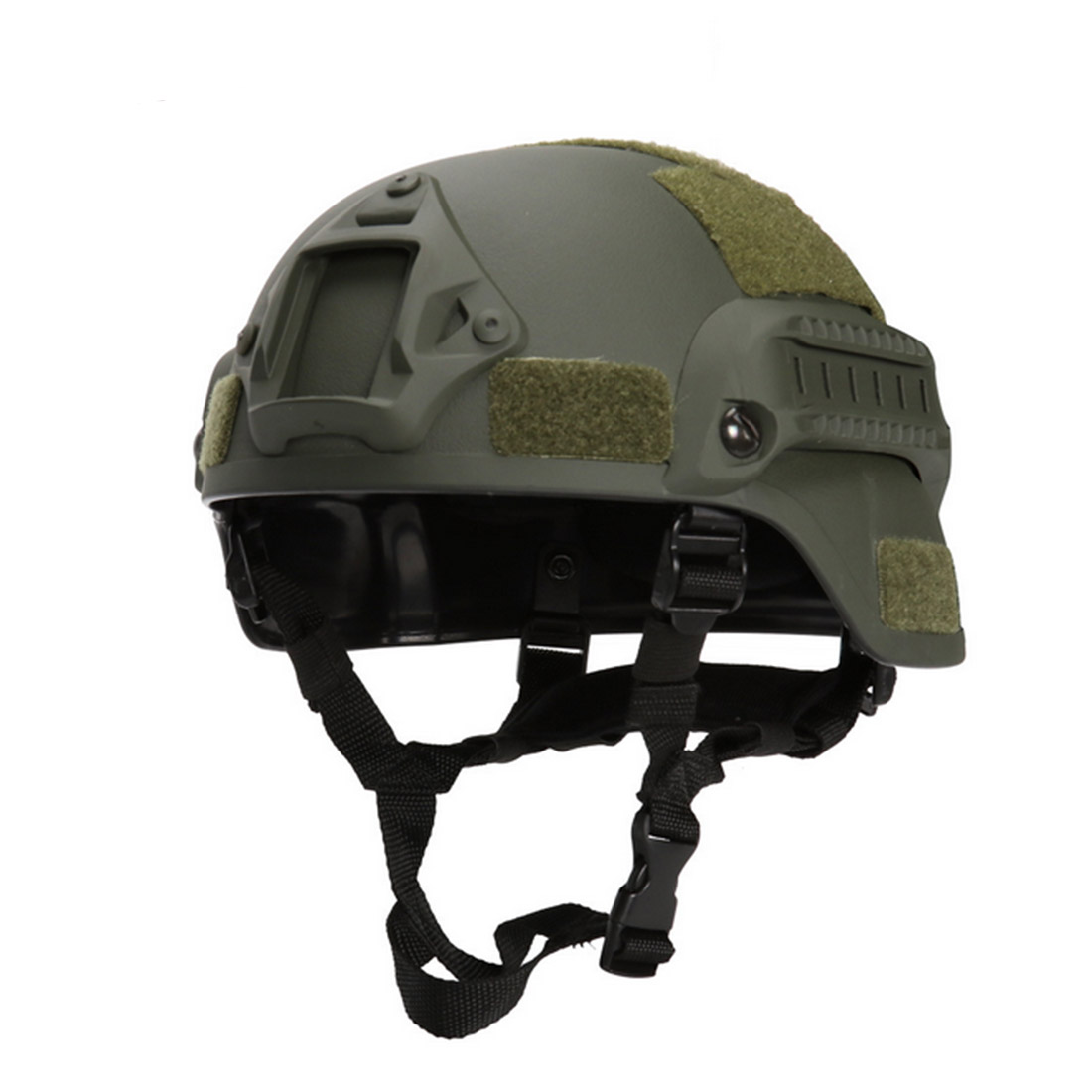 High Quality Protective Paintball Wargame Helmet Army Airsoft MH Tactical FAST Helmet With Safety Protective Goggle Lightweight
